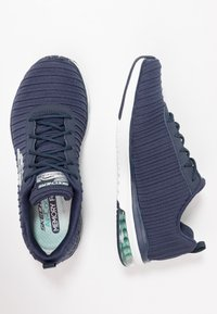 Skechers Sport - SKECH AIR - Trainers - navy/white - 3