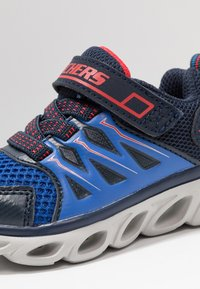 Skechers - HYPNO-FLASH 3.0 - Sneaker low - navy/red - 5