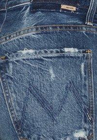 Mother - HIGH WAISTED HIKER HOVER - Straight leg jeans - blue denim - 2