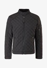 MIT LEICHTER WATTIERUNG - Light jacket - black