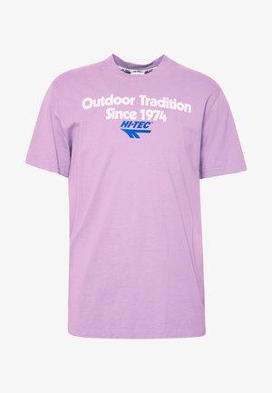 ANTON - T-shirt con stampa - soft purple