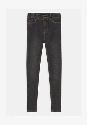 NLFPIL - Skinny džíny - dark grey denim
