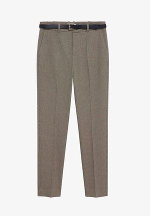 BORECUAD - Trousers - brown