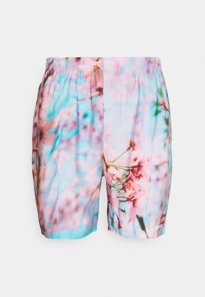 9N1M SENSE - SPECIAL PIECES UNISEX - Shorts - blue/pink