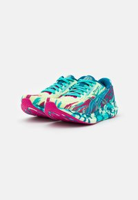 ASICS - NOOSA TRI 13 - Tekmovalni tekaški čevlji - illuminate yellow/sea glass - 1