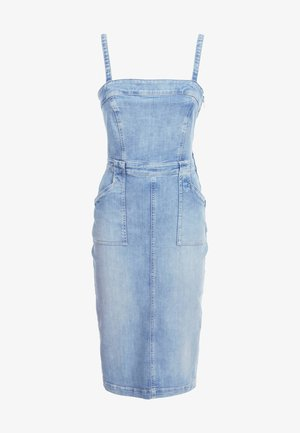 Denim dress - himmelblau