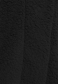 Noisy May Curve - NMCUDDLE COATIGAN - Fleece jacket - black - 5