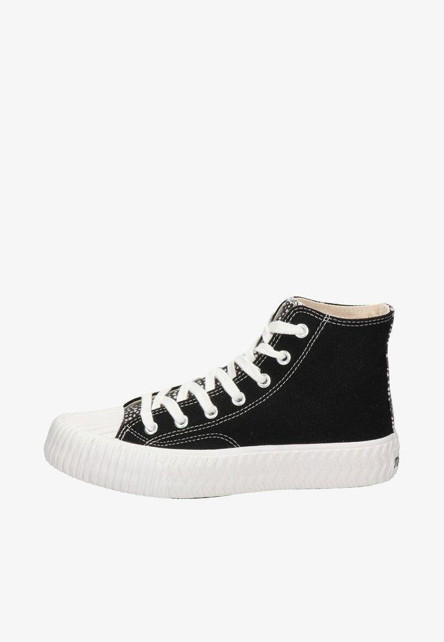 Sneakers hoog - zwart
