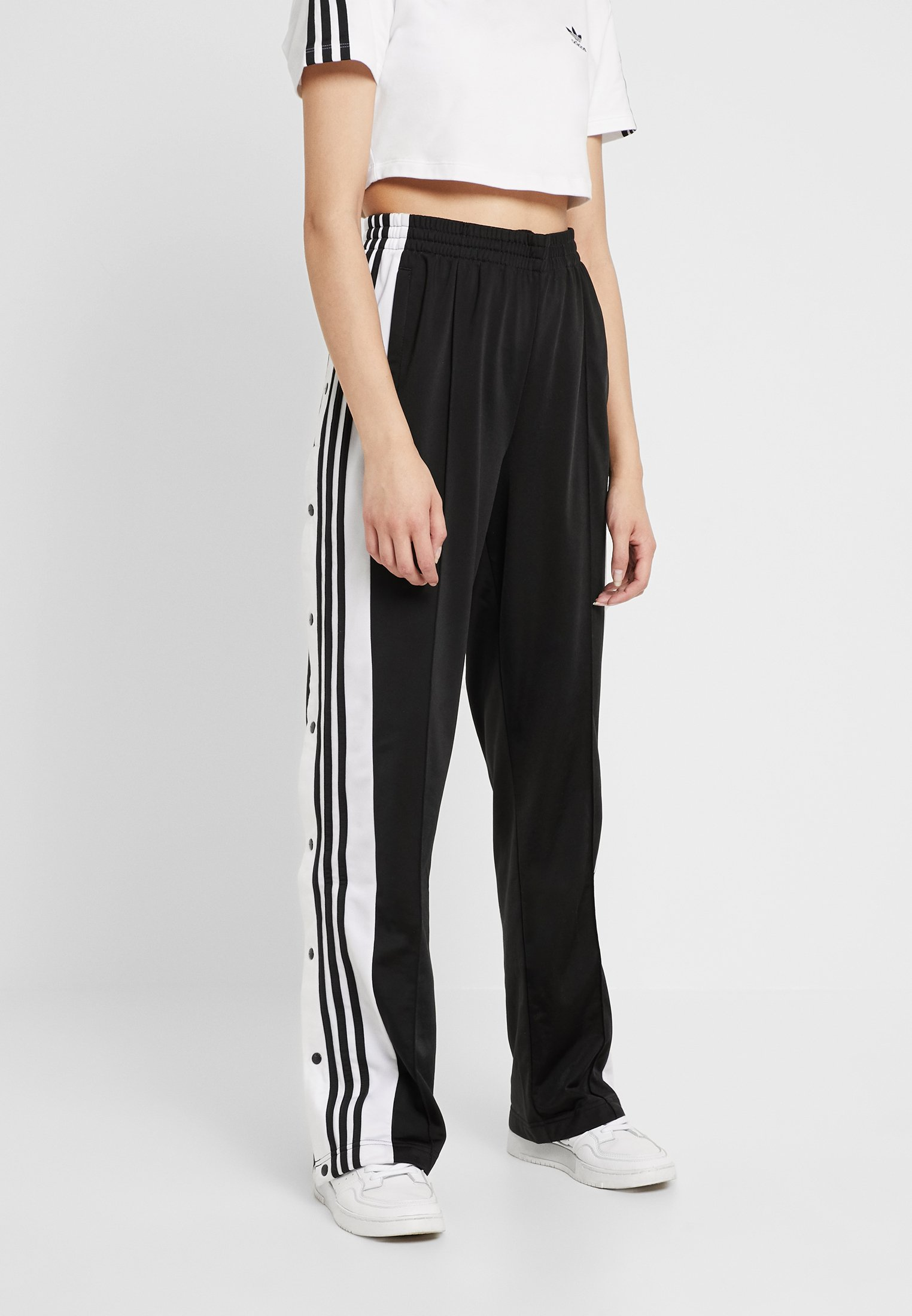 paño segmento Hazlo pesado  adidas Originals ADIBREAK PANT - Tracksuit bottoms - black - Zalando.co.uk