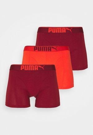 PREMIUM 3 PACK - Culotte - red