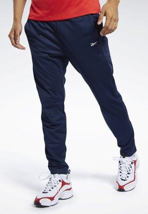 WORKOUT READY TRACK PANTS - Pantalon de survêtement - blue