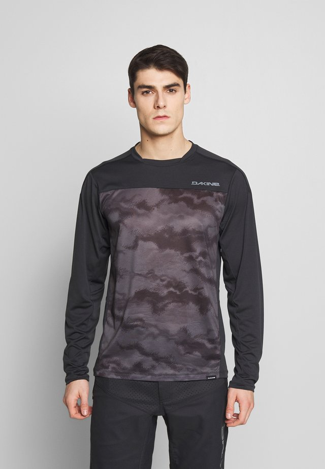 SYNCLINE - Koszulka sportowa - black/dark ashcroft