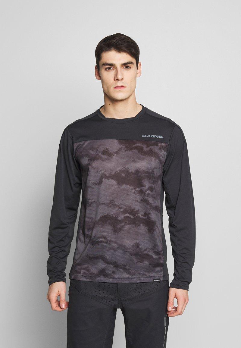 Dakine - SYNCLINE - Sports shirt - black/dark ashcroft
