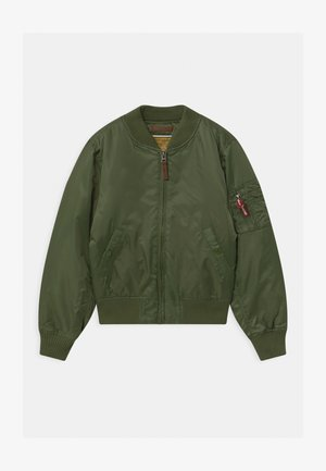 KIDS - Winter jacket - sage green