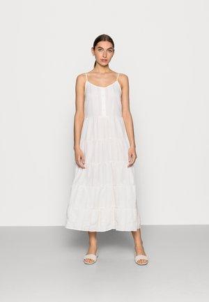 PAMINA DRESS - Day dress - white/yellow