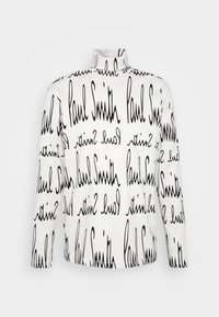 Paul Smith - GENTS ROLL NECK ARCHIVE LOGO PRINT - Long sleeved top - white/black - 4