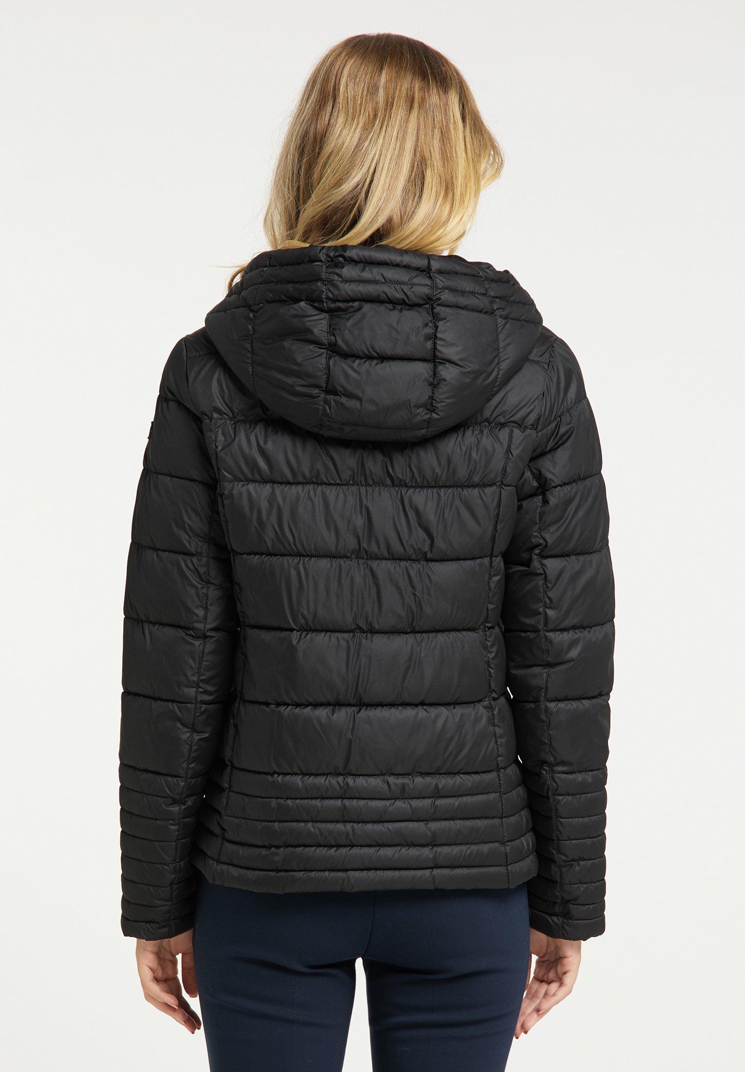 DreiMaster Winterjacke schwarz
