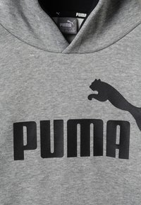 Puma - LOGO HOODY  - Mikina s kapucí - medium gray heather - 2