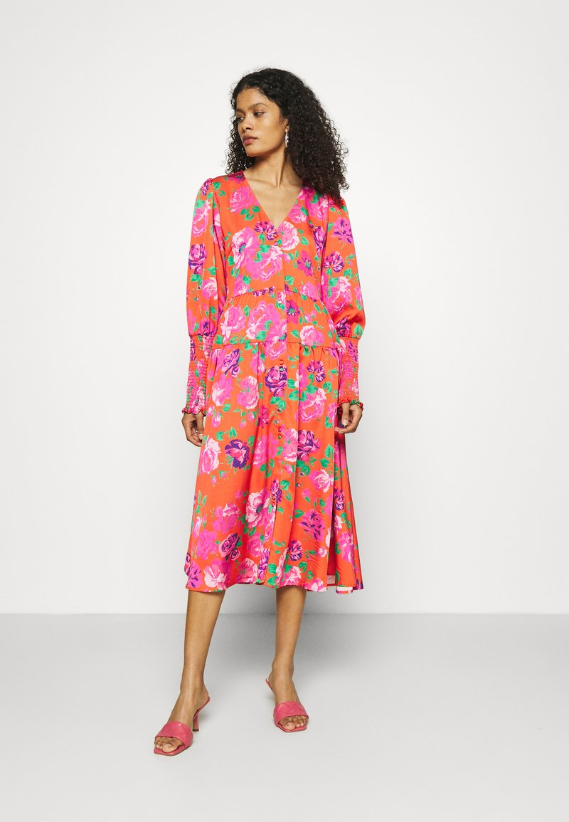 Cras - MILLACRAS DRESS - Paitamekko - pink