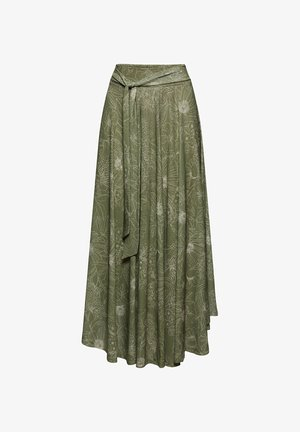 Maxi skirt - light khaki