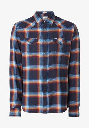 LS WESTERN - Shirt - navy