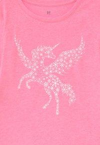 GAP - GIRL - Langærmede T-shirts - neon pink rose - 2