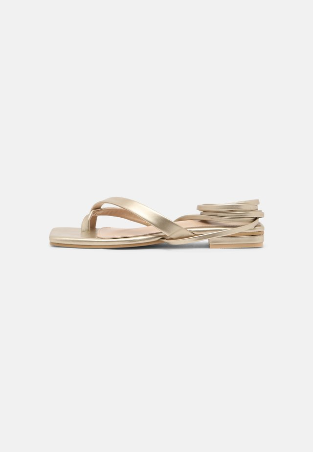 HAVEN - Tongs - gold