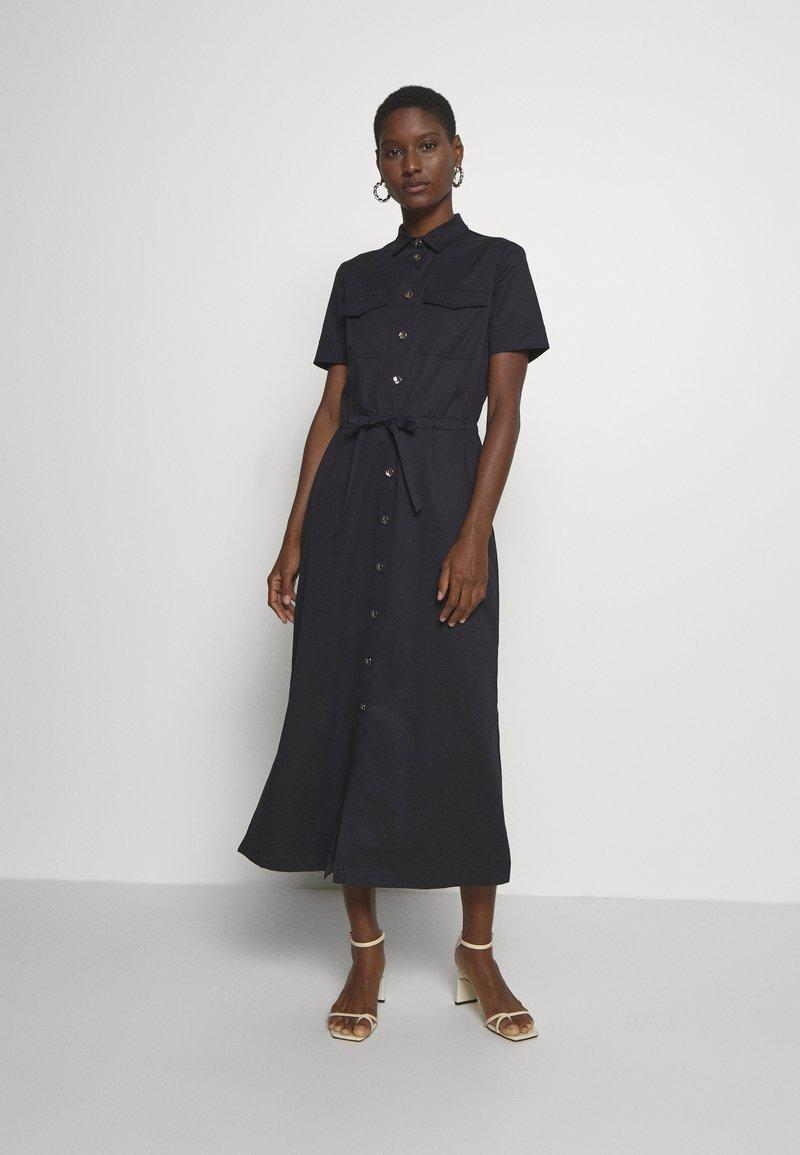 s.Oliver BLACK LABEL - Shirt dress - dark navy