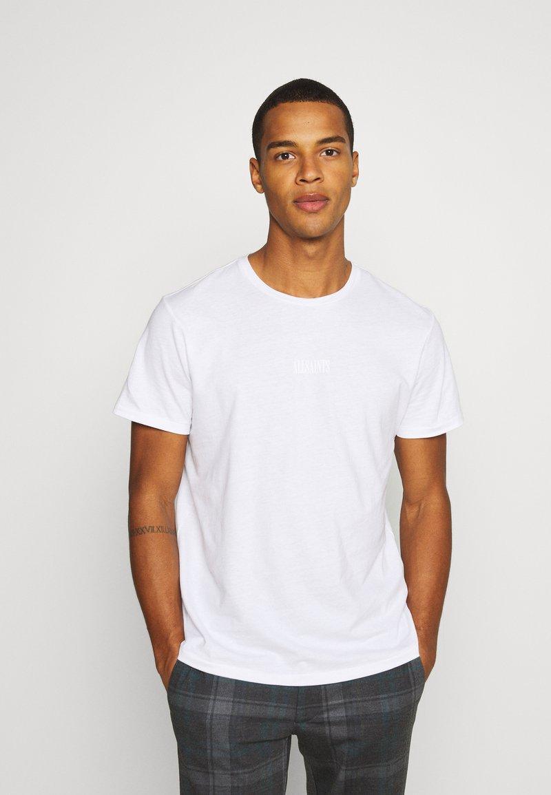 AllSaints - ELEMENT CREW - Basic T-shirt - optic white