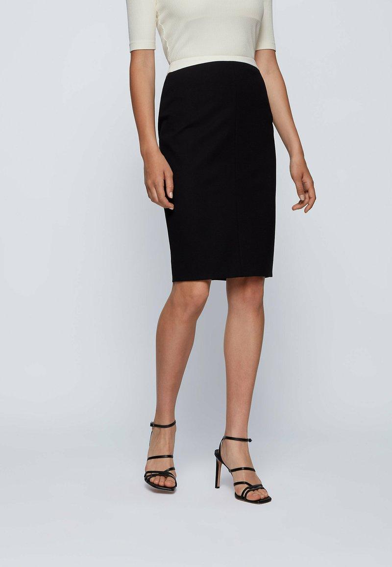BOSS - Pencil skirt - black