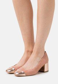 Anna Field - LEATHER - Classic heels - light pink - 0