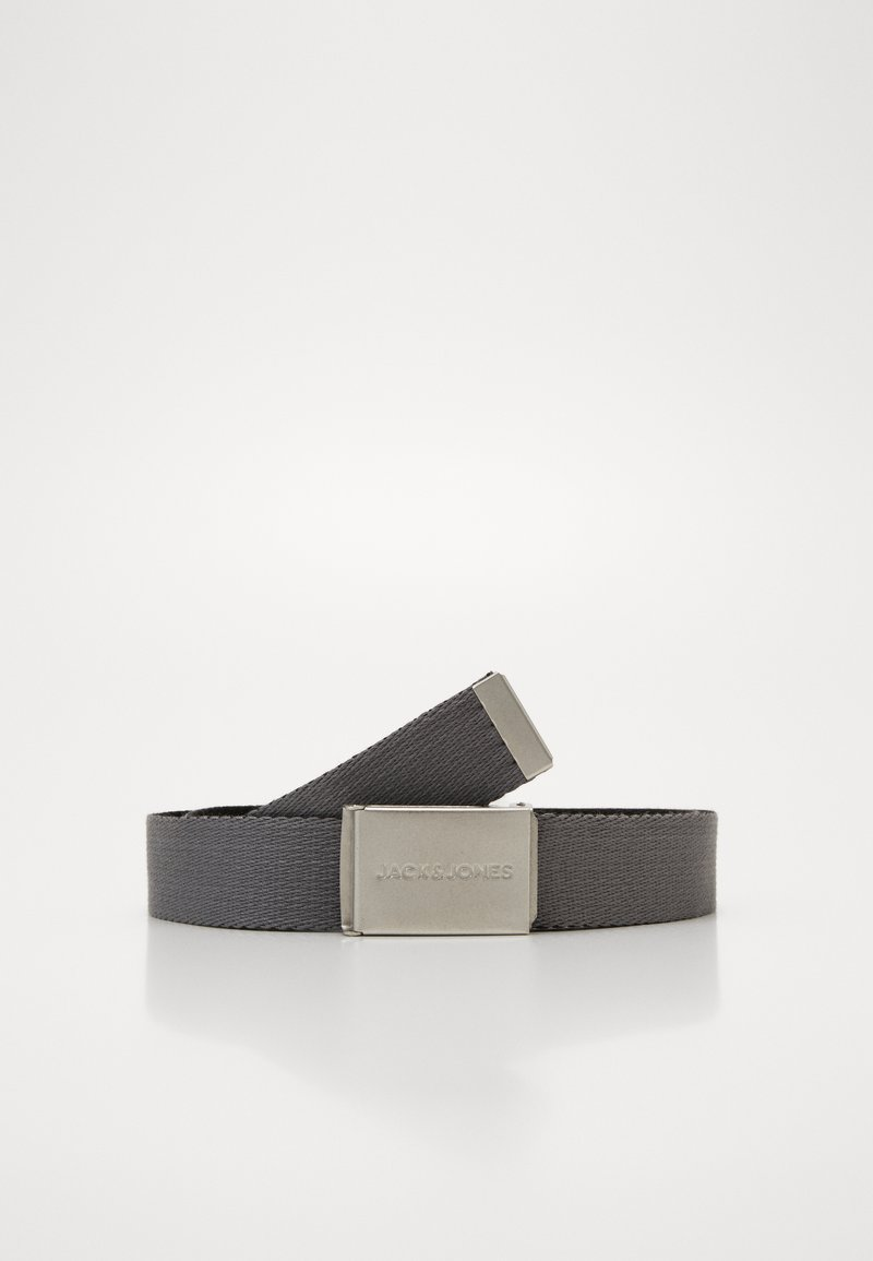 Jack & Jones - JACKYLE REVERSIBLE BELT - Belt - castlerock/black