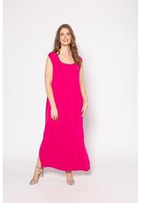 Ulla Popken - Maxi dress - pink - 0