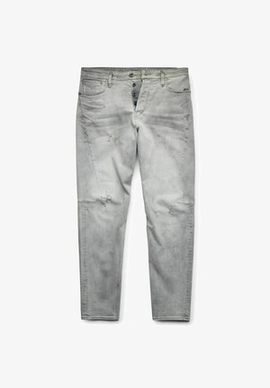 SCUTAR 3D TAPERED - Jeans slim fit - vintage oreon grey destroyed