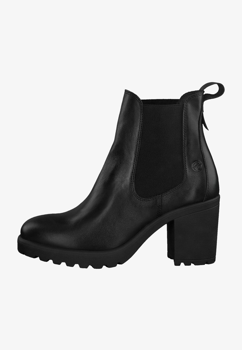 Tamaris - CHELSEA  - High heeled ankle boots - black