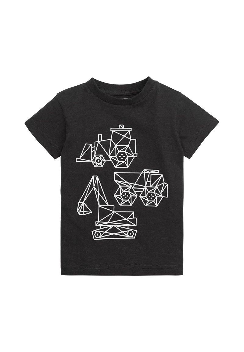 Next - Print T-shirt - black