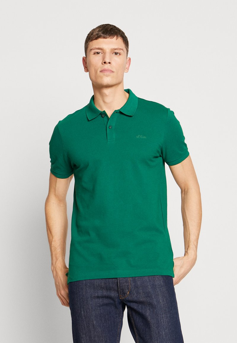 s.Oliver - Polo shirt - green
