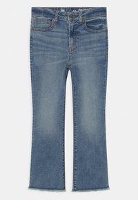 GAP - GIRL - Bootcut jeans - blue denim - 0