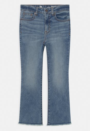 GIRL - Bootcut jeans - blue denim