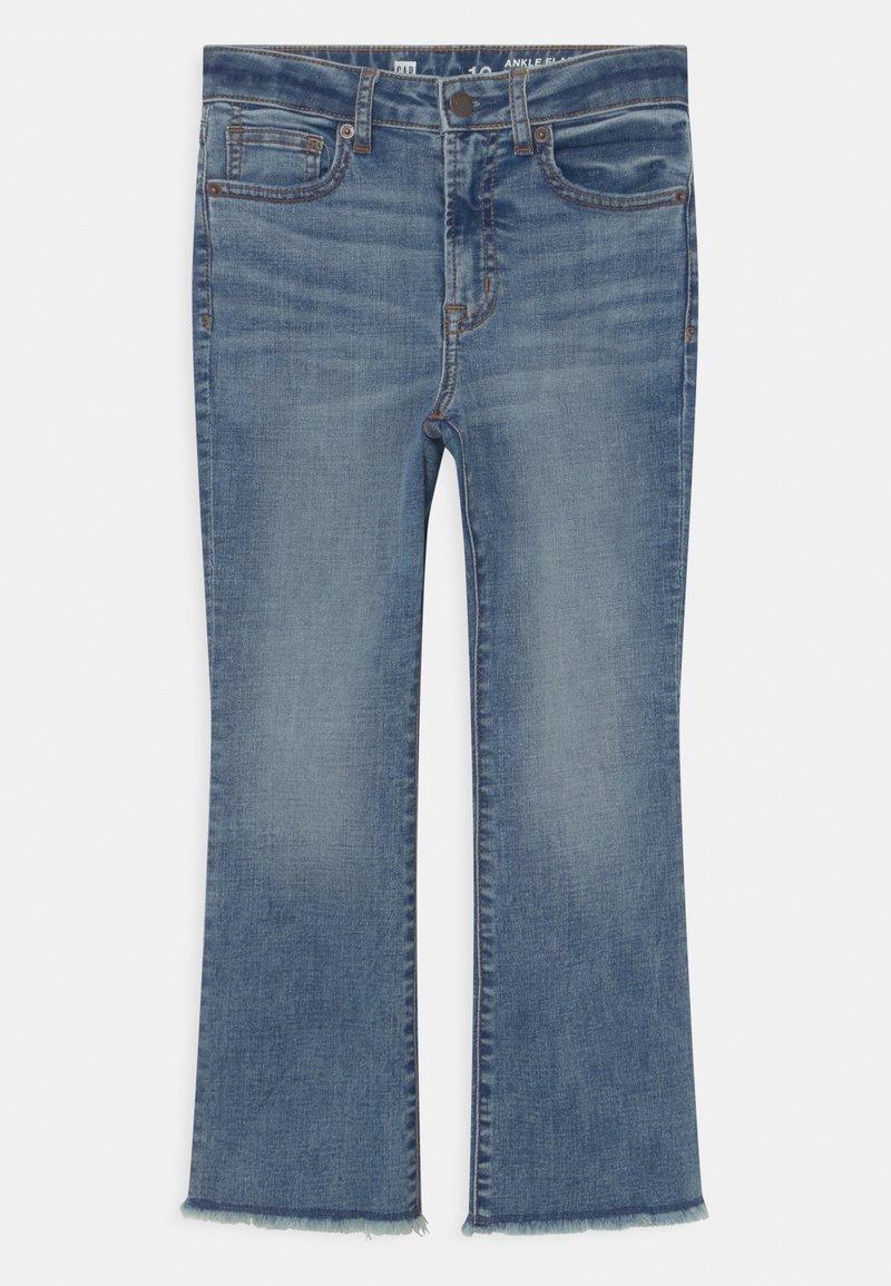 GAP - GIRL - Bootcut jeans - blue denim