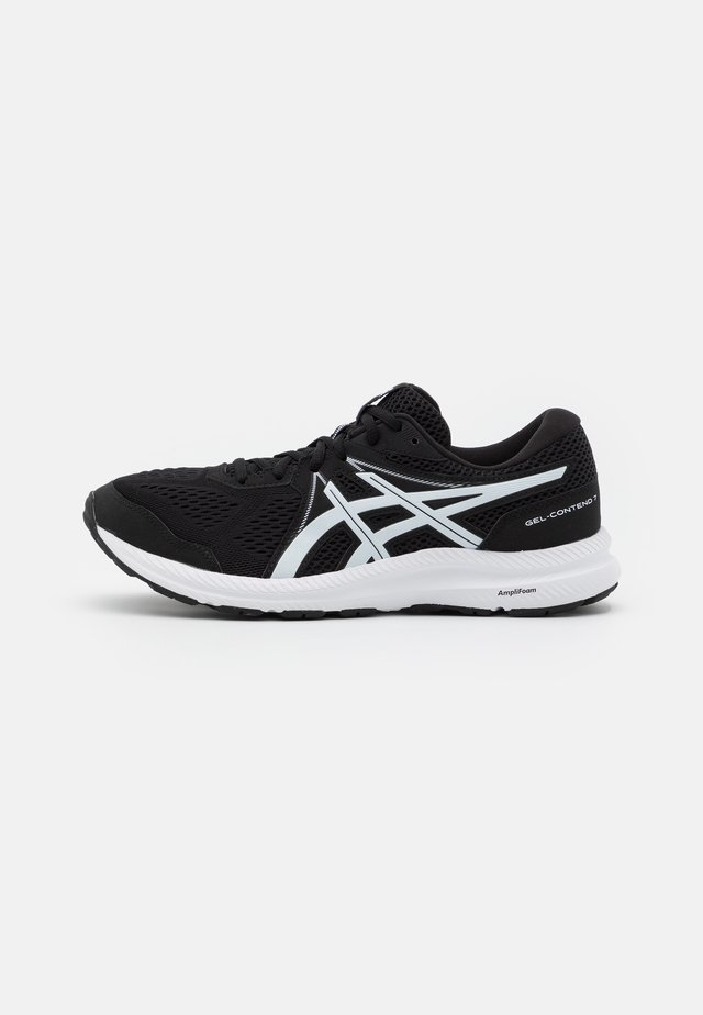 GEL CONTEND 7 - Neutral running shoes - black/white