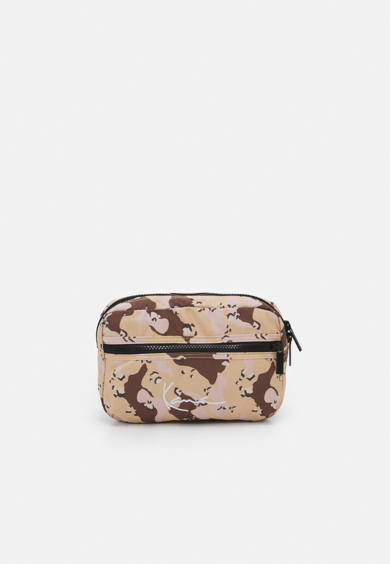 Karl Kani - SIGNATURE CAMO HIP BAG UNISEX - Bum bag - beige