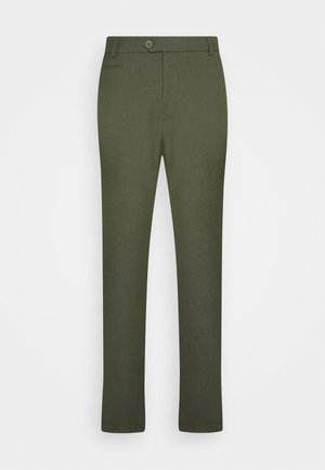 COMO SUIT PANTS SEASONAL - Stoffhose - deep forrest