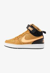 Nike Sportswear - COURT BOROUGH MID UNISEX - High-top trainers - wheat/orange pulse/black/white - 1