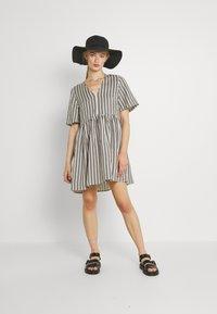 EDITED - MABEL DRESS - Day dress - beige/black - 1