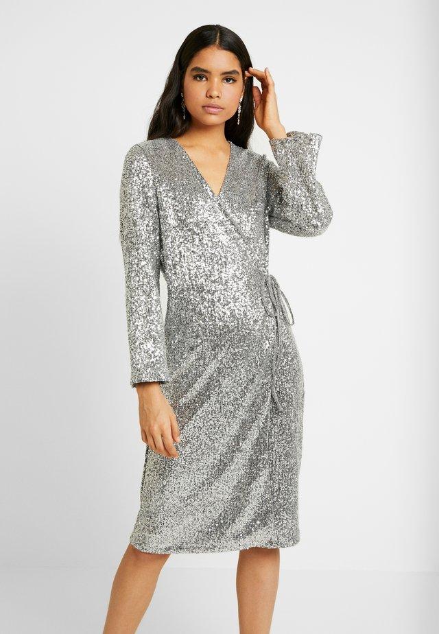 SANDRA DRESS - Cocktailjurk - silver