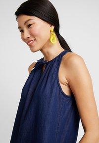 Q/S designed by - Denim dress - dark blue denim - 5