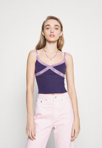 BDG Urban Outfitters - CROSS ALICE CAMI - Top - grape - 0