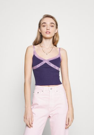 CROSS ALICE CAMI - Topper - grape