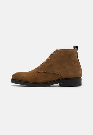 TONY - Lace-up ankle boots - tobaco
